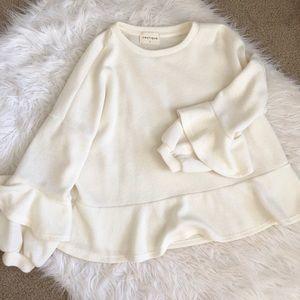 VESTIQUE peplum sweater